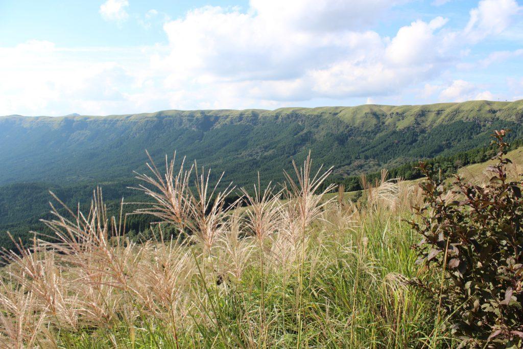 阿蘇山周辺の風景